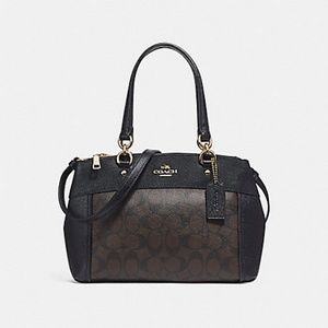COACH MINI BROOKE CARRYALL